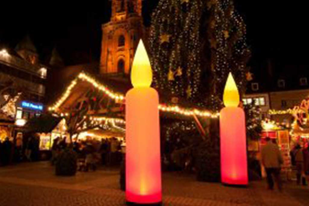 AIRCONES_CANDLE - Lichtelemente Weihnachtsedition