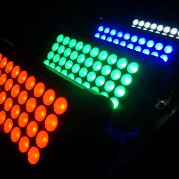 IRIDIUM LED Touch Wash 40x 10W RGBW