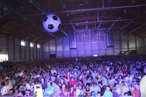Eventtechnik - Sportevents gemeinsam erleben